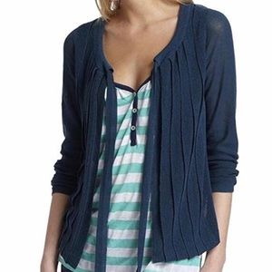 NWT Anthropologie Amala Cardigan Turquoise Blue